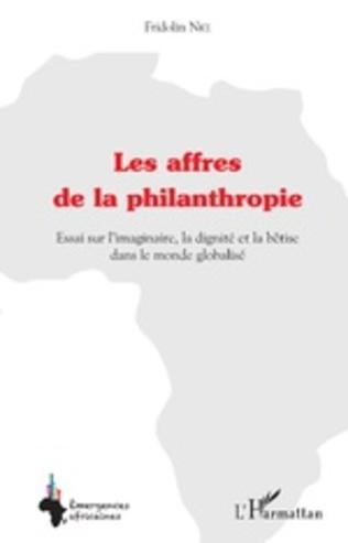 Couverture Les affres de la philanthropie