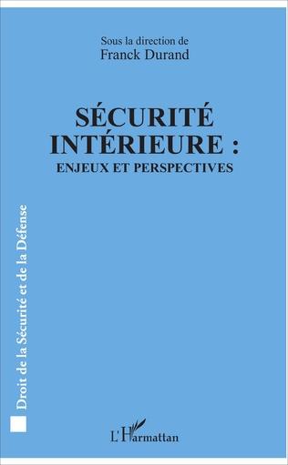 Couverture Sécurité intérieure :