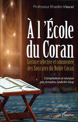 Couverture A l'école du Coran