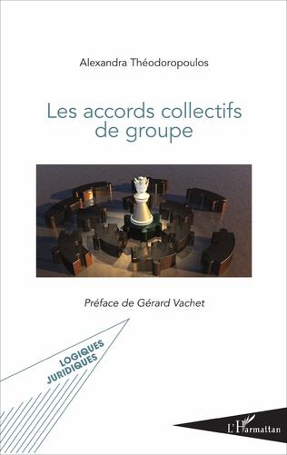 Couverture Les accords collectifs de groupe