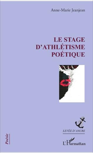 Couverture Le stage d'athlétisme poétique