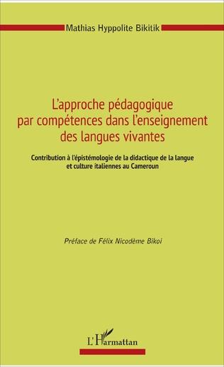 Couverture L'approche pédagogique par compétences dans l'enseignement des langues vivantes