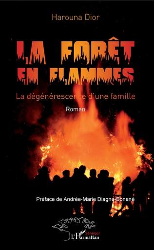 Couverture La forêt en flammes