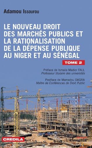 Couverture Le nouveau droit des marchés publics et la rationalisation de la dépense publique