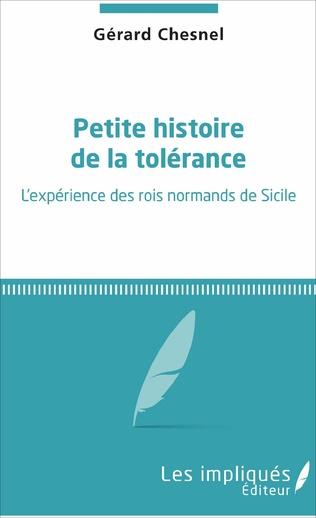 Couverture Petite histoire de la tolérance