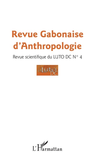 Couverture Revu gabonaise d'anthropologie n° 4