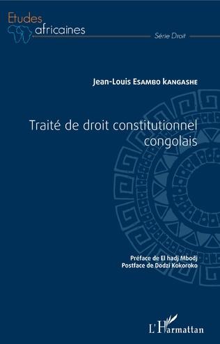 Couverture Traité de droit constitutionnel congolais