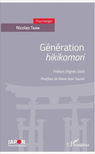 Couverture Génération <em>hikikomori</em>