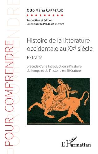 Couverture Histoire de la littérature occidentale au XXe siècle