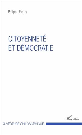 Couverture Citoyenneté et démocratie