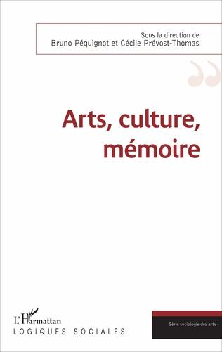 Couverture Arts, culture, mémoire