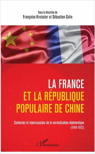 Couverture La France et la République populaire de Chine
