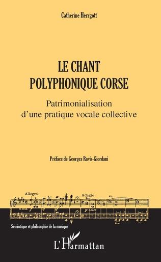Couverture Le chant polyphonique corse