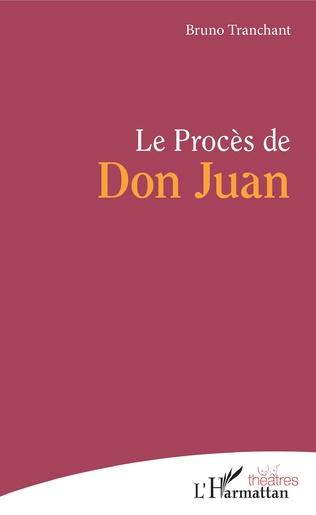Couverture Le Procès de Don Juan