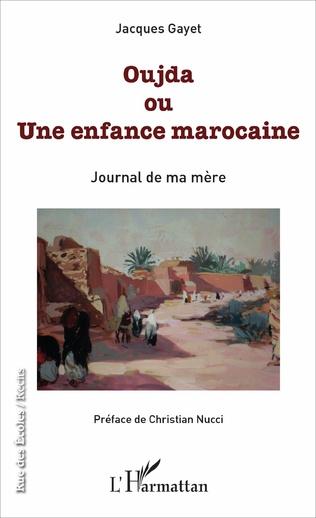 Couverture Oujda ou Une enfance marocaine