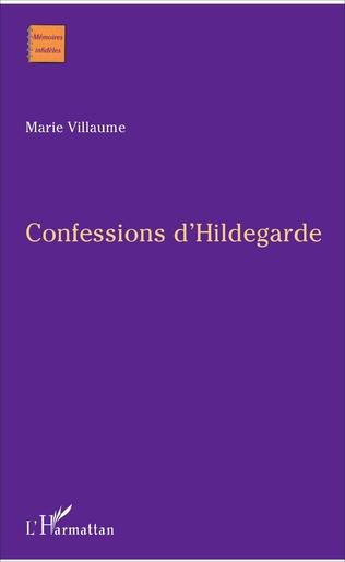 Couverture Confessions d'Hildegarde