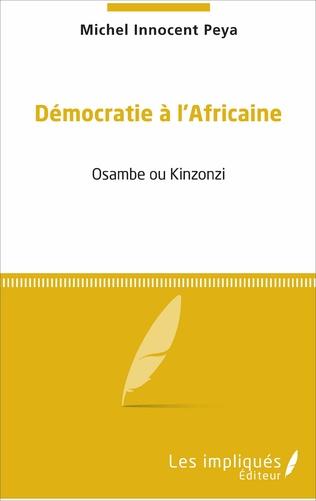 Couverture Démocratie à l'africaine