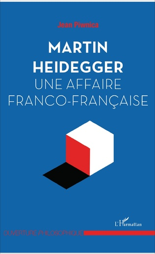 Couverture Martin Heidegger, une affaire franco-française
