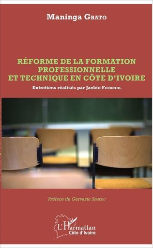 Couverture Réforme de la formation professionnelle et technique en Côte d'Ivoire