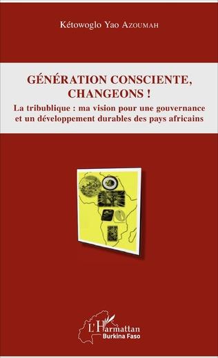 Couverture Génération consciente, changeons !