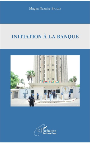 Couverture Initiation à la banque
