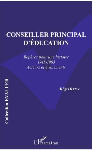 Couverture Conseiller principal d'éducation