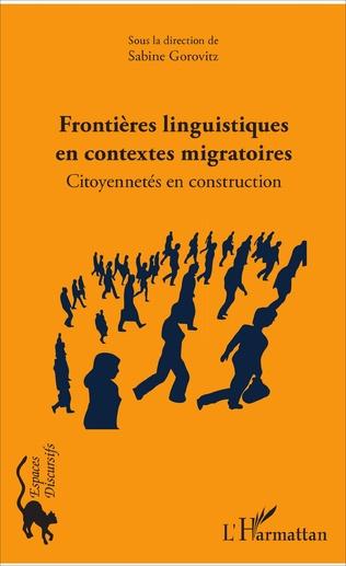 Couverture Frontières linguistiques en contextes migratoires