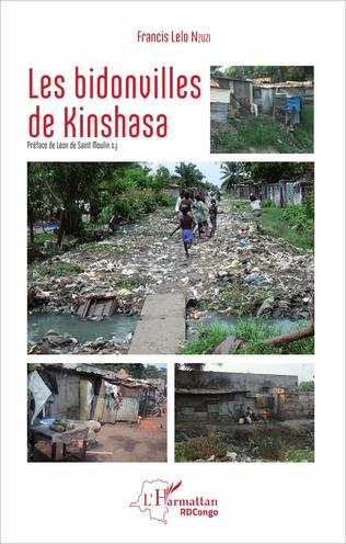 Couverture Les bidonvilles de Kinshasa