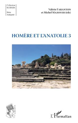 Couverture Homère et l'Anatolie 3
