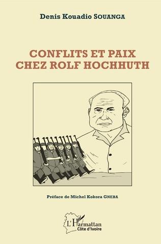 Couverture Conflits et paix chez Rolf Hochhuth