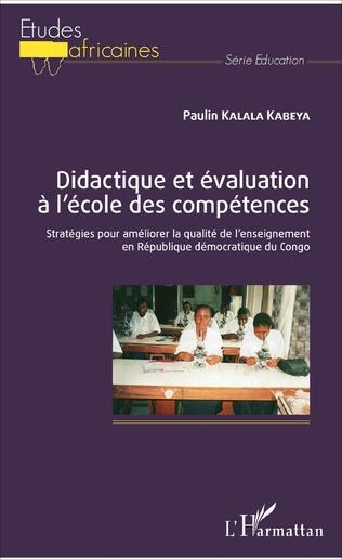 Couverture Didactique et évaluation à l'école des compétences