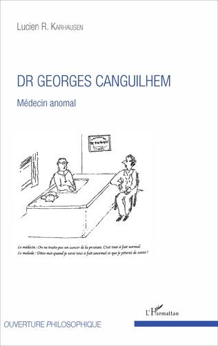 Couverture Dr Georges Canguilhem