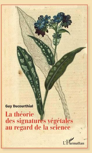 Couverture Théorie des signatures végétales au regard de la science