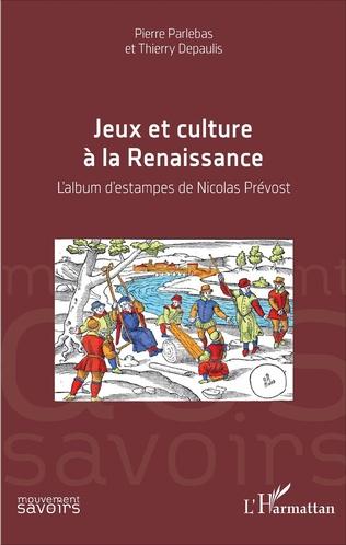 Couverture Jeux et culture à la Renaissance