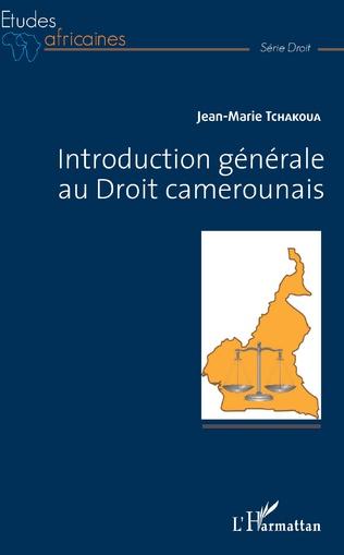 Couverture Introduction générale au Droit camerounais