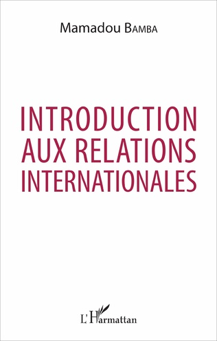 Couverture Introduction aux relations internationales