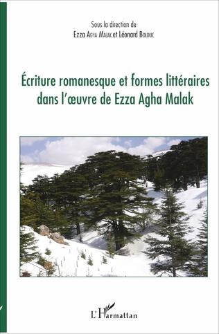 Couverture Ecriture romanesque et formes littéraires dans l'oeuvre de Ezza Agha Malak
