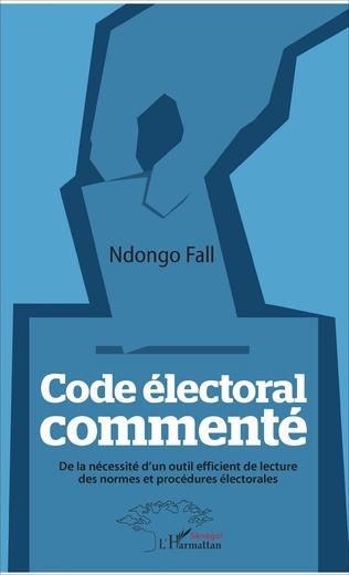 Couverture Code électoral commenté
