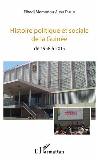 Couverture Histoire politique et sociale de la Guinée