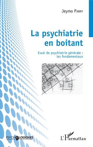 Couverture La psychiatrie en boitant