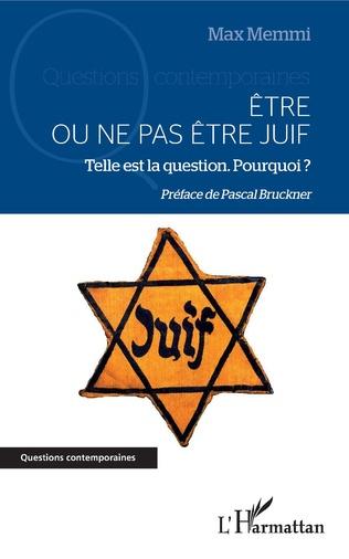 Couverture Être ou ne pas être juif