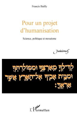 Couverture Pour un projet d'humanisation