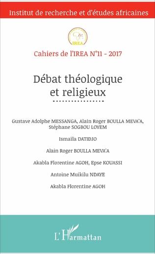 Couverture Débat théologique et religieux
