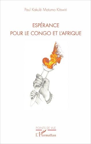 Couverture Espérance pour le Congo et l'Afrique