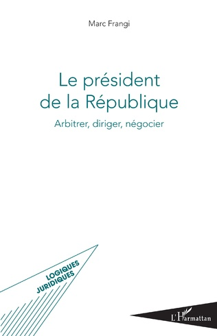 Couverture Le président de la République