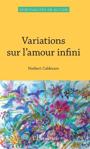 Couverture Variations sur l'amour infini