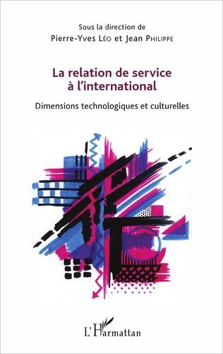 Couverture La relation de service à l'international
