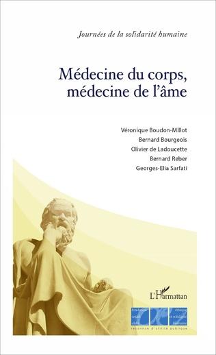 Couverture Médecine du corps, médecine de l'âme