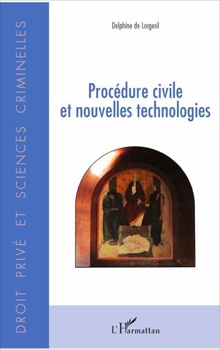 Couverture Procédure civile et nouvelles technologies