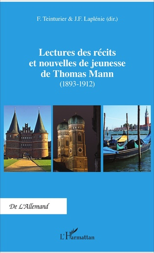 Couverture Lectures des récits et nouvelles de jeunesse de Thomas Mann